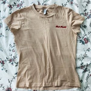 & Other Stories Pink T-Shirt